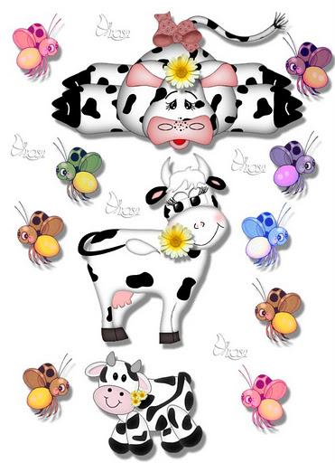 Vacas e abelhinhas (371x512, 65Kb)
