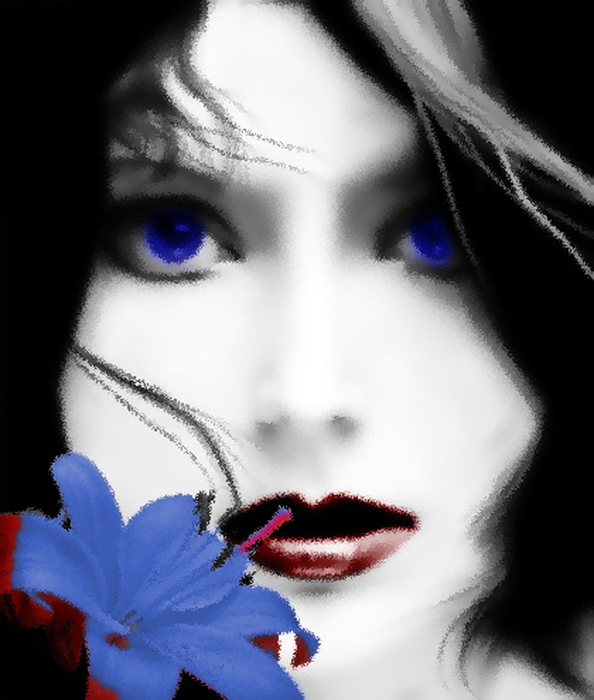 День и ночь...  Синь доверчивых глаз - для других, для других...