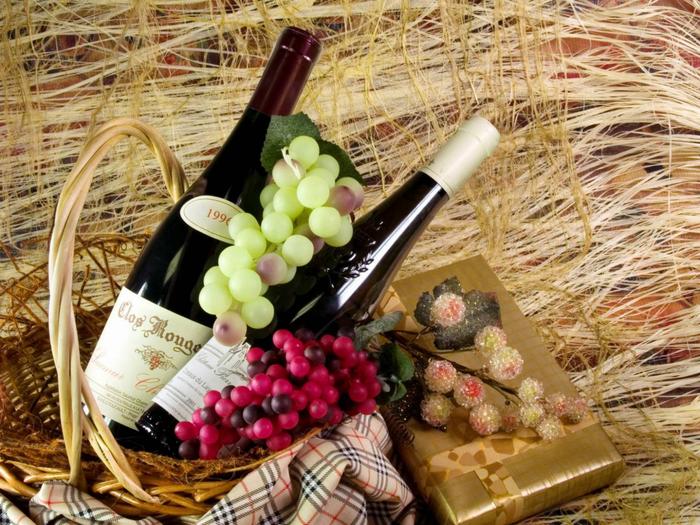 Картинки цветы и вино 7