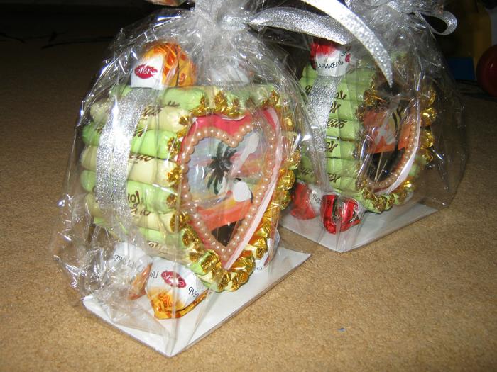 Сделай сам своими руками подарок из конфет