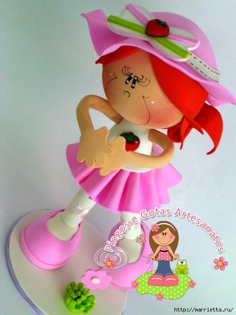 Мастер классы по изготовлению кукол из фоамирана