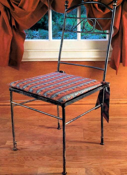 Сшить подушку на стул