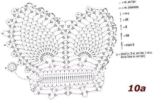 вязаная бабочка половинка (500x331, 60Kb)