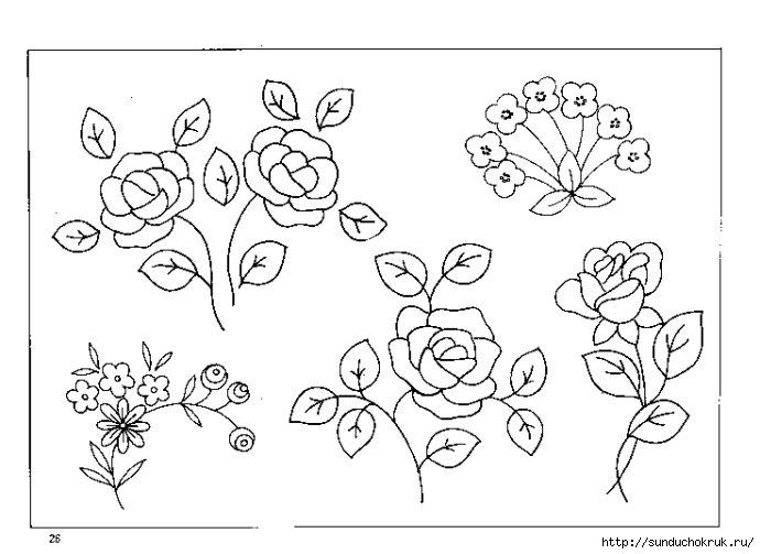 Простые узоры для рисунка на ногтях