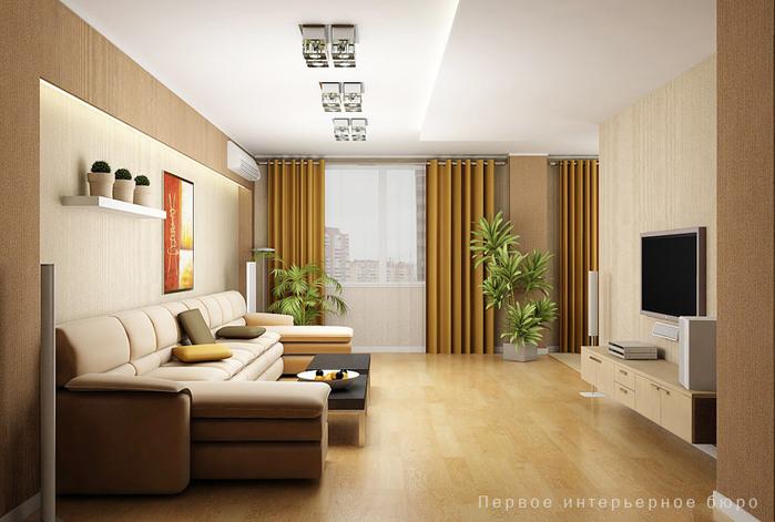 Дизайн 3 х комнатной квартиры 97 серии