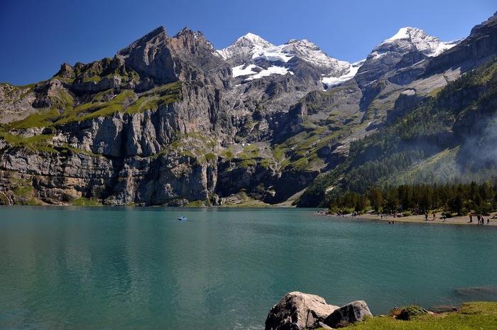 Озеро Oeschinensee 45261