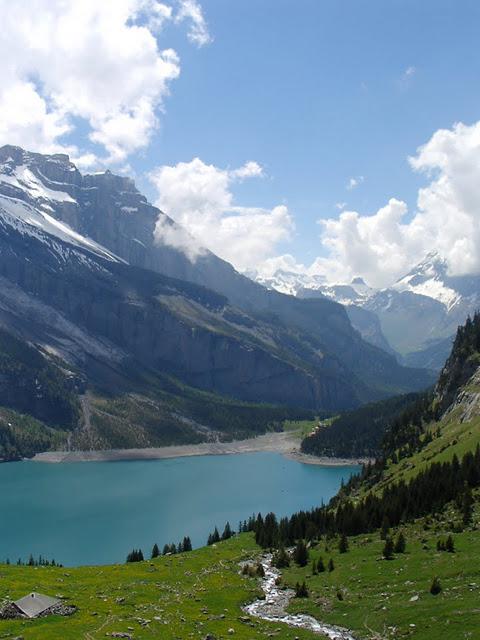 Озеро Oeschinensee 33509