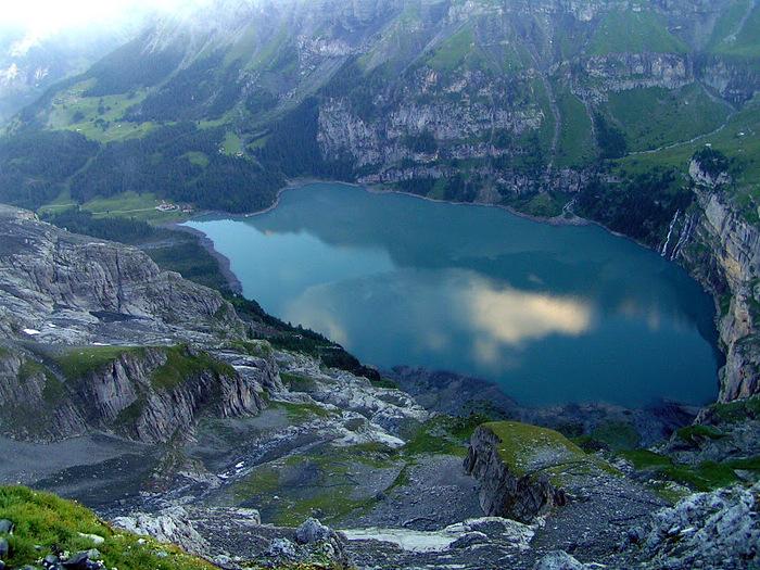 Озеро Oeschinensee 87735