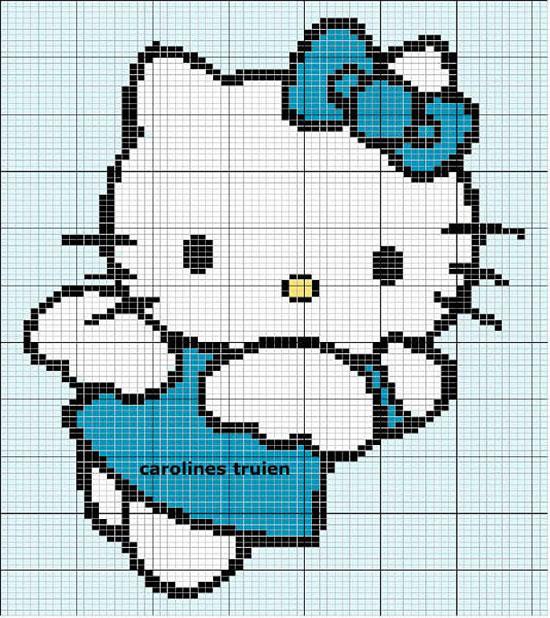 <схемы вышивки hello kitty