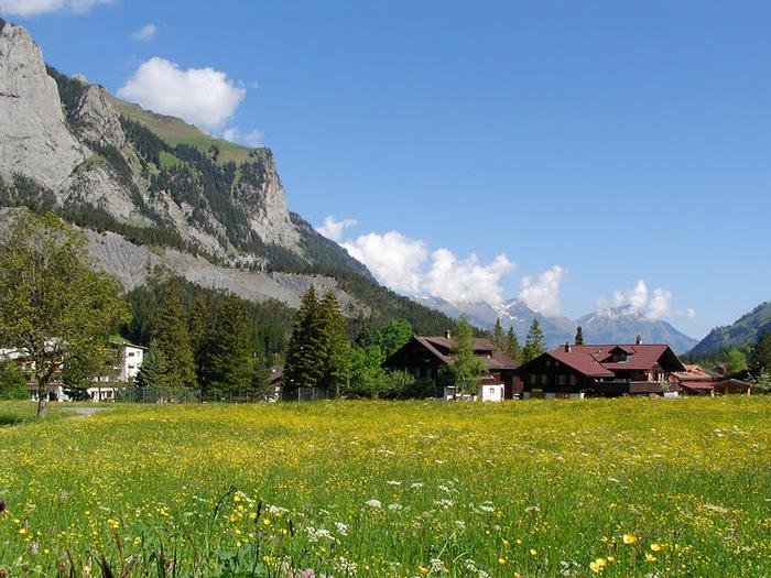 Озеро Oeschinensee 56461