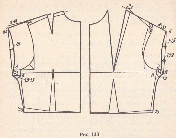 Платье с цельнокроеным коротким рукавом