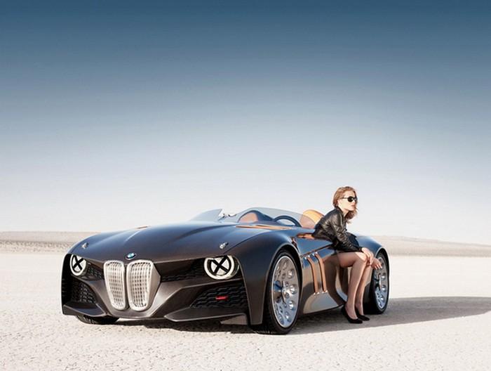 Винтажный концепт BMW 328 Hommage
