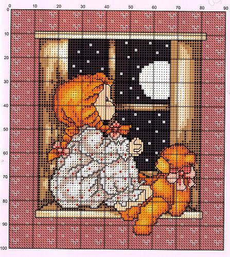 ночь за окном сказка (447x500, 222Kb)