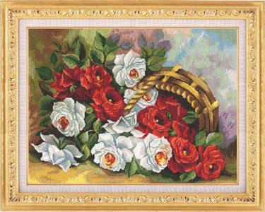 ЛЦ-031 Садовые розы (375x300, 45Kb)