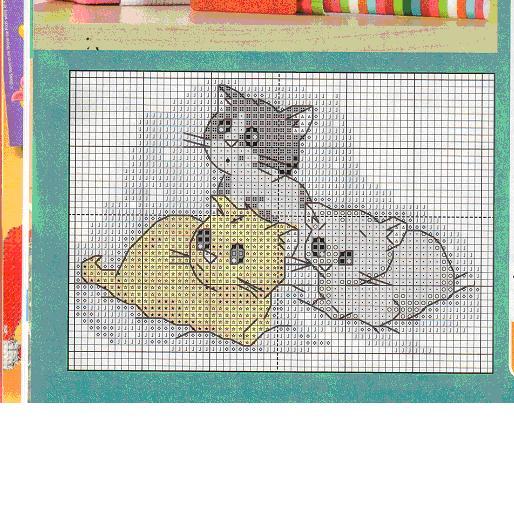 три котенка схемаjpg (514x510,