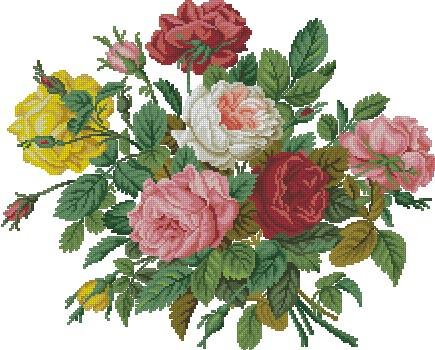 букетик роз (435x350, 77Kb)