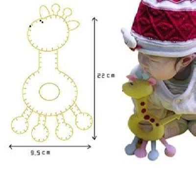 Шьем игрушки для новорожденных своими руками 16