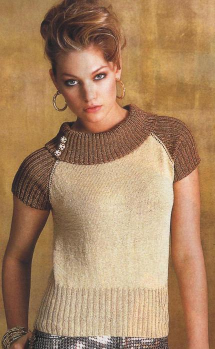 Женский Летний Пуловер