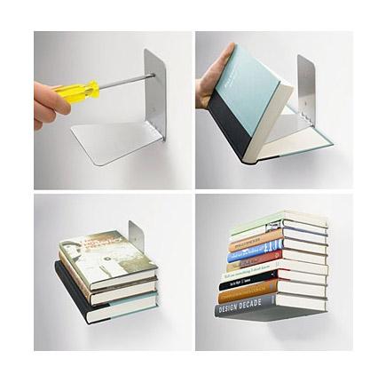 Полочка из книг своими руками