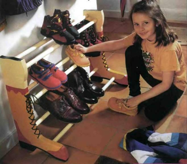 Подставка для сушки обуви своими руками - Домашний Очаг - Полезные советы Онлайн