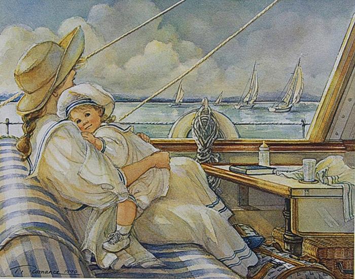 TRISHA ROMANCE -little-sailor-print (700x550, 380Kb)