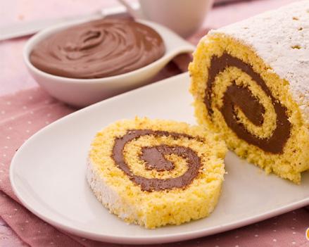 рецепт вкусного рулета сладкого