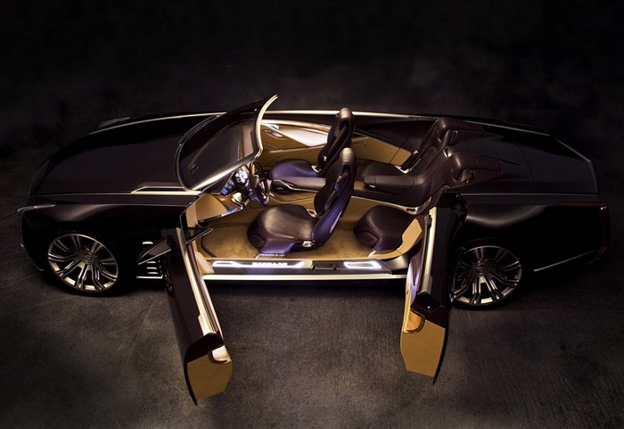 Новый концепт-кар Cadillac Ciel