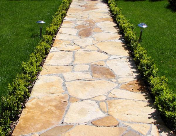 Садовые дорожки своими руками - Ландшафтный дизайн своими ру…