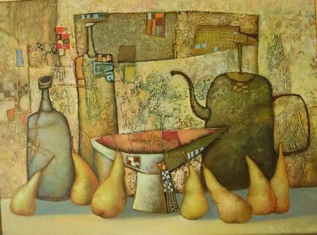 Сулимов Александр 084 - Натюрморт с грушами (640x474, 59Kb)