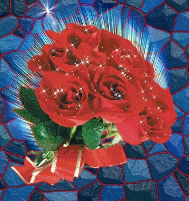 Анимированные красивые цветы картинки 5