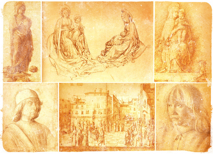 рисунки старых мастеров8 (700x506, 293Kb)