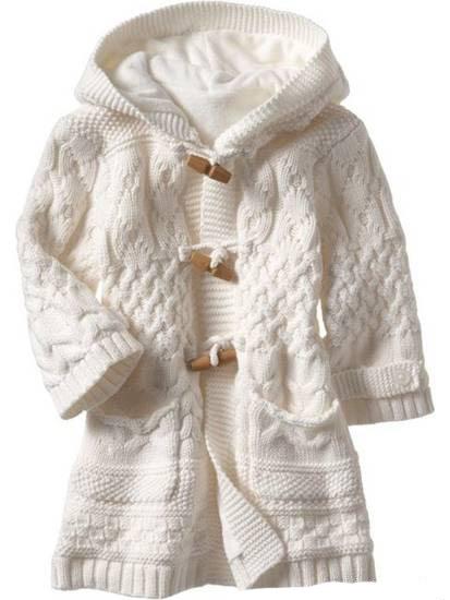Вязаное пальто детское (35 фотки ) ::