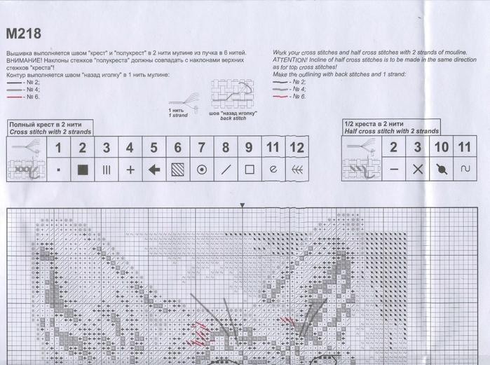 Схема вышивки сфинкса