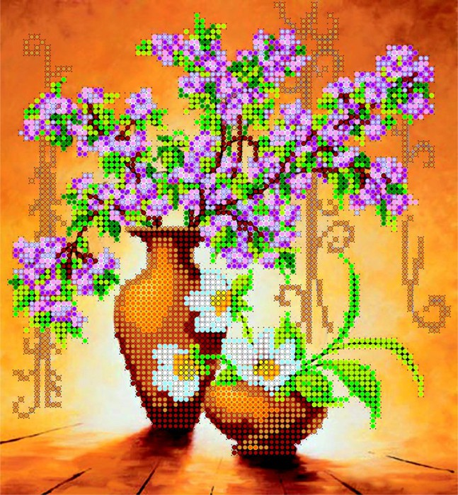АС-003, Весенние цветы (647x700, 211Kb)