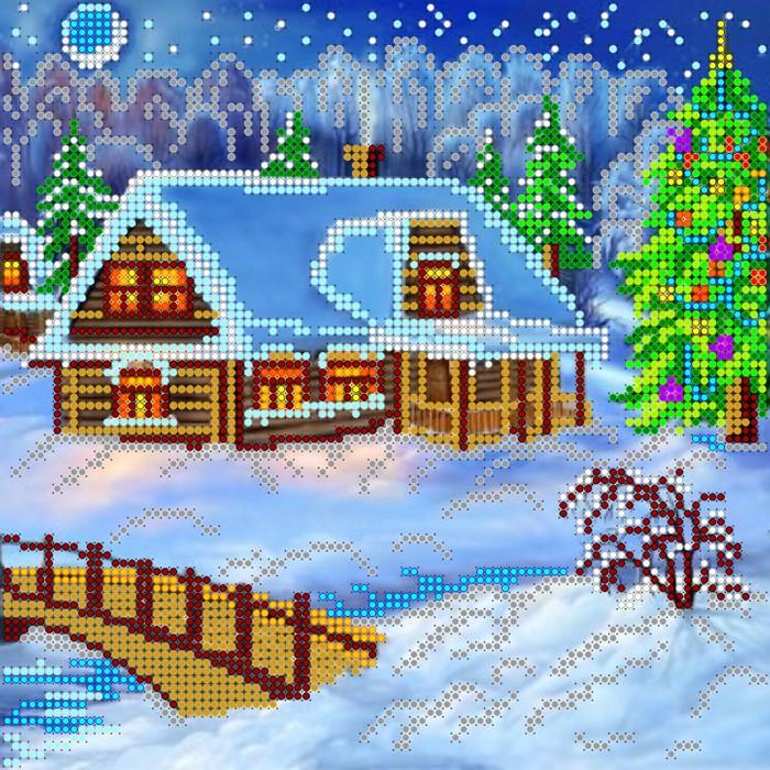АС-004, Рождественский вечер (700x700, 231Kb)