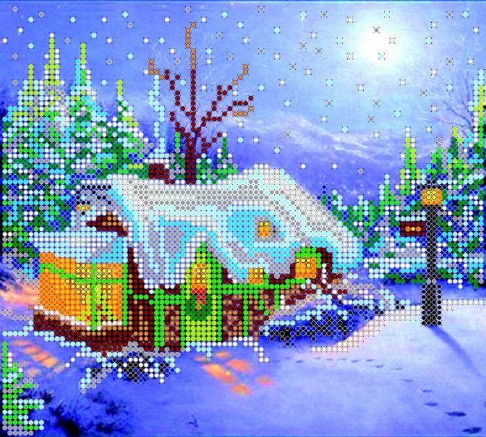 АС-016, Рождество (700x630, 211Kb)