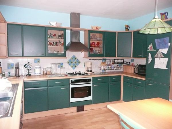 как покрасить старую кухню
