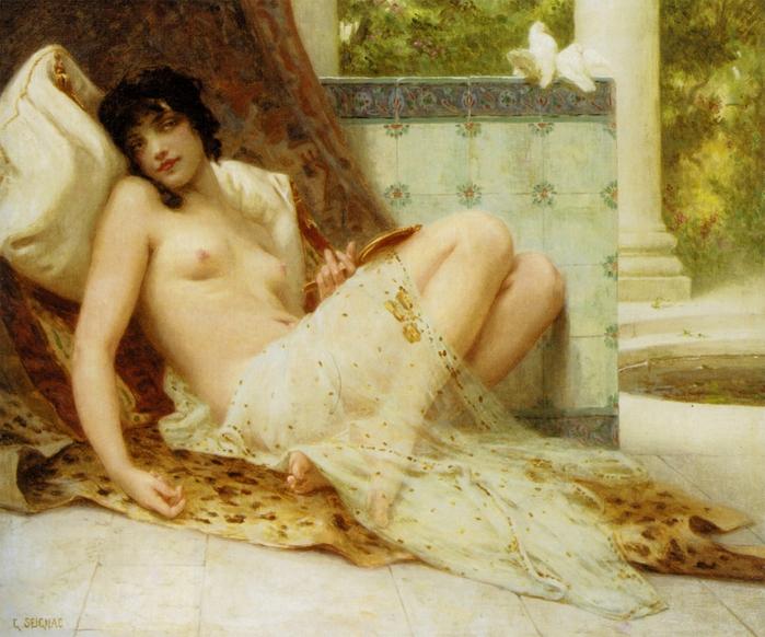Jeune femme denudée sur canape (700x582, 329Kb)