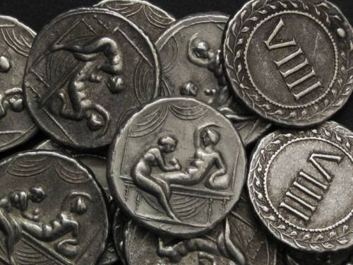 Спинтрии, пикантные древнеримские монеты