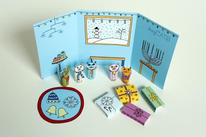 03-Made-by-Joel-Hanukkah-Holiday-Dressy-Cats-Kids-Craft-2 (700x465, 109Kb)