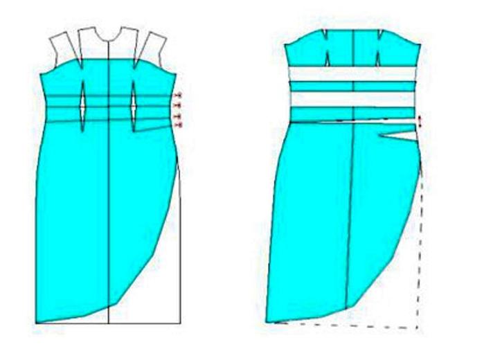 модный фасон