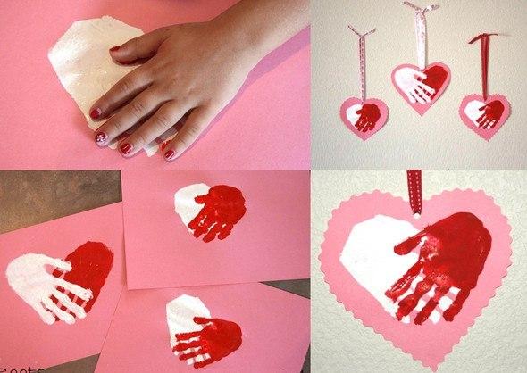 Что можно сделать на валентинов день своими руками