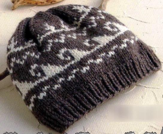 Мужские шапки с орнаментом спицами-просто и красиво /4683827_20120123_174657 (544x445, 93Kb)