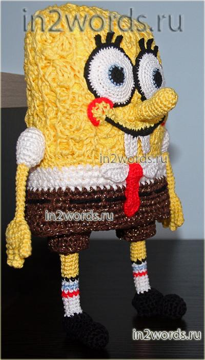 Игрушка Спанч Боб (Sponge Bob)
