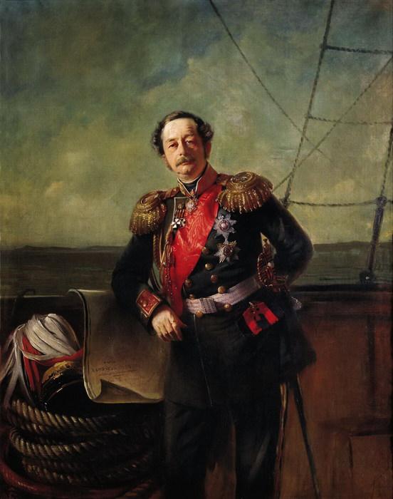 Портрет генерал-губернатора Восточной Сибири графа П.П.Муравьёва-Амурского (552x700, 87Kb)
