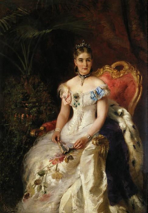 Портрет Марии Михайловны Волконской (487x700, 90Kb)