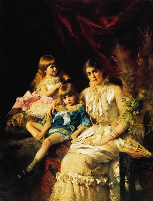 Семейный портрет (531x700, 106Kb)