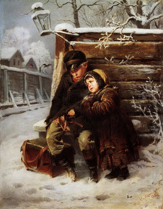 Маленькие шарманщики. 1868 (545x700, 143Kb)