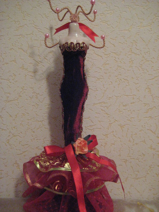 Манекен из куклы своими руками