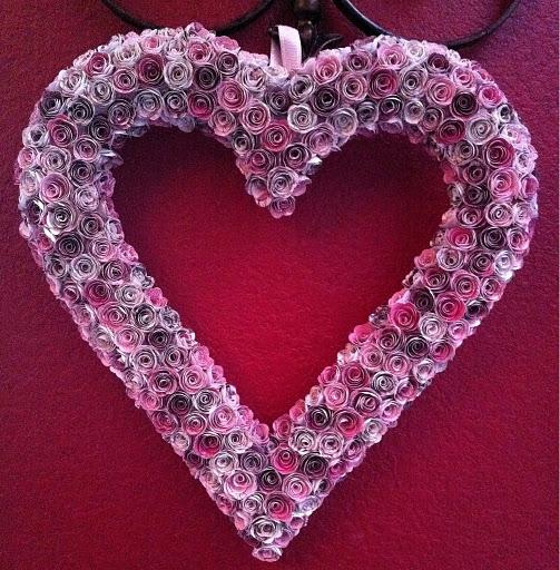 Сердечки своими руками ко дню святого валентина фото